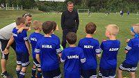 Talé kouč Pavel Vrba prosazuje výchovu kreativních malých fotbalistů.
