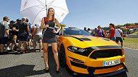 Na mosteckém autodromu se premiérově v české historii uskutečnila evropská série závodů amerických sedanů NASCAR.
