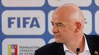 Předseda FIFA Gianni Infantino.