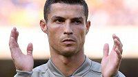 Největší hvězda italské ligy Cristiano Ronaldo