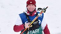 Trenér polských běžců na lyžích Lukáš Bauer při SP v Novém Městě na Moravě.