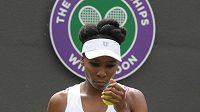 Venus Williamsová v prvním kole Wimbledonu