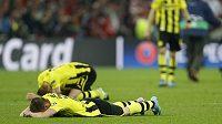Zklamání hráčů Dortmundu bylo po závěrečném hvizdu obrovské.