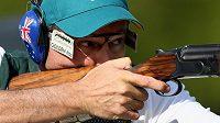 Australský střelec Michael Diamond.
