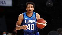 Americký basketbalista San Antonia Keldon Johnson se připojil k výběru USA pro olympijské hry v Tokiu.