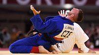 Zase zlatý! Judista Lukáš Krpálek si vychutnává olympjský triumf.