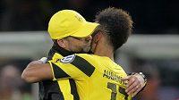 Pierre-Emerick Aubameyang a Jürgen Klopp si spolu v Borussii Dortmund rozuměli. Přestoupí útočník z Gabonu za Němcem do Liverpoolu.