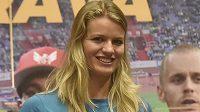 Sprinterská hvězda Zlaté tretry, Dafne Schippersová z Nizozemska.
