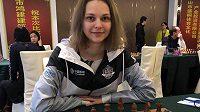 Ukrajinská šachová hvězda Anna Muzyčuková.