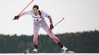 Petra Nováková při závodě Tour de Ski v Toblachu, v němž dojela na posledním 46. místě a po konzultaci s lékařem z odstoupila.