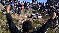 Fin Jari Ketomaa s Fordem Fiesta WRC na trati Rallye Argentina 2015.