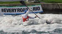 Cestu do Ria může vodním slalomářům v Londýně znepříjemňovat i hustá pěna.