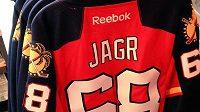 Dres Jaromíra Jágra si fanoušci Floridy Panthers mohou zakoupit již během dnešního domácího duelu s Chicagem.