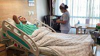 Judista Krpálek stráví Silvestra v horečkách v thajské nemocnici.