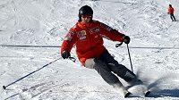 Němec Michael Schumacher lyžování zbožňuje.