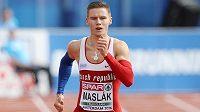 Pavel Maslák při mistrovství Evropy v Amsterdamu.