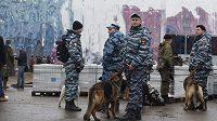 Policejní hlídka v Soči.