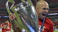 Arjen Robben, autor vítězné trefy Bayernu ve finále Ligy mistrů.
