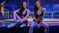 Rozhodčí, trenéři a dívky, které ukazovaly pořadí kol. To byla kulisa pro zápasníky na víkendovém galavečeru UFC v Brazílii.