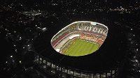 Fotbalové kluby v Brazílii nabídly pro boj s koronavirem stadiony (ilustrační snímek stadionu)