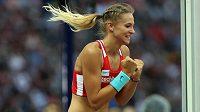Radost Amálie Švábíkové při kvalifikaci mistrovství Evropy v Berlíně.