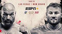 Tyson Fury a Tom Schwarz. Dvojice, kterou čeká bitva v Las Vegas.