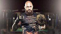 Michal Blackbeard Martínek. Uspěje na testu v UFC?