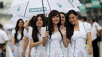Ilustrační snímek z Grand Prix Malajsie v Sepangu.