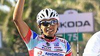 Vítěz 6. etapy Giro d'Italia Miguel Chavez z Kolumbie