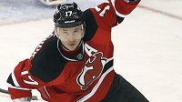 Hokejový útočník New Jersey Ilja Kovalčuk