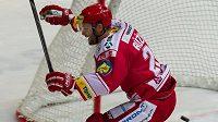 Třinecký hokejista Martin Růžička