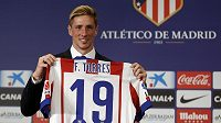 Útočník Fernando Torres v Atlétiku zkusí restartovat svou kariéru.