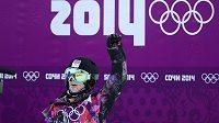 Snowboardistka Šárka Pančochová se raduje, na U-rampě uspěla a postoupila do semifinále.
