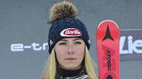 Mikaela Shiffrinová se ruským fanouškům nepředstaví