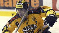 Litvínovský útočník Martin Ručinský v utkání 29. kola hokejové Tipsport extraligy proti Liberci.
