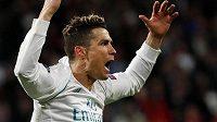 Hvězda Realu Madrid - Cristiano Ronaldo.