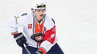 Linus Högberg z Växjö - jeho tým si vybojoval právo startu i příštím ročníku hokejové Ligy mistrů.