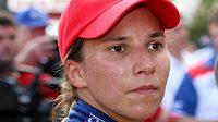 Švýcarská závodnice Simona de Silvestrová by mohla jezdit ve formuli 1 za Sauber.