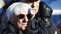 Bernie Ecclestone, dlouholetý šéf formule 1.
