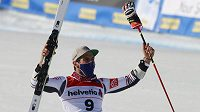 Francouzský lyžař Mathieu Faivre vyhrál na MS obří slalom.