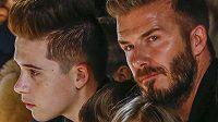 David Beckham se svým synem Brooklynem