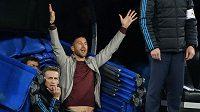 Sergio Ramos během odvety semifinále Ligy mistrů mezi Realem Madrid a Juventusem.