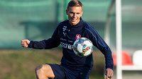 Záložník Bořek Dočkal působí v zámořské MLS, momentálně trénuje s českou reprezentací v Praze.