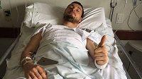Ondřej Klymčiw se v nemocnici zotavuje z hrozivého pádu na Rallye Dakar.