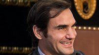 Roger Federer na archivním snímku.