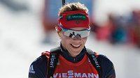 Německá biatlonistka Evi Sachenbacherová-Stehleová.