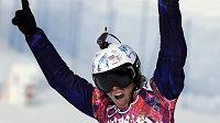 Česká snowboardkrosařka Eva Samková byla v kvalifikaci suverénní.