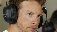 Britský pilot Jenson Button ze stáje McLaren