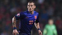 Nizozemský záložník Wesley Sneijder na archivním snímku z utkání s ČR. Ilustrační snímek.