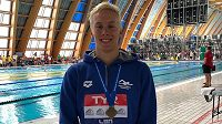 Mladý český plavec Jan Čejka překonal na MSJ v Budapešti seniorský český rekord na 50 metrů znak.